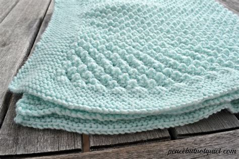 easy knit baby blanket easy knitting patterns popcorn baby blanket peace but