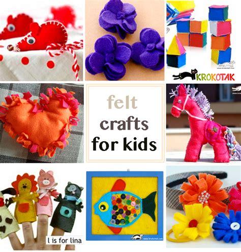felt crafts for no sew krokotak pillow no sew