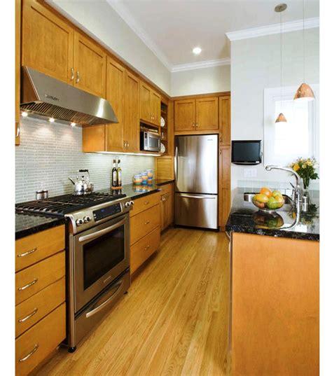 best small kitchen designs the best galley kitchen designs for efficient small kitchen