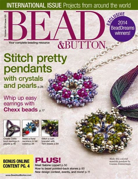 bead and button 17 best images about bead button magazin on