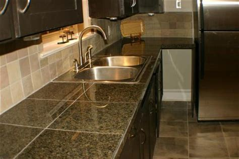 tile kitchen countertop ideas 11 different types of kitchen countertops buying guide cost estimates