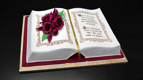 book cake pictures how to make a 3d book cake yeners way