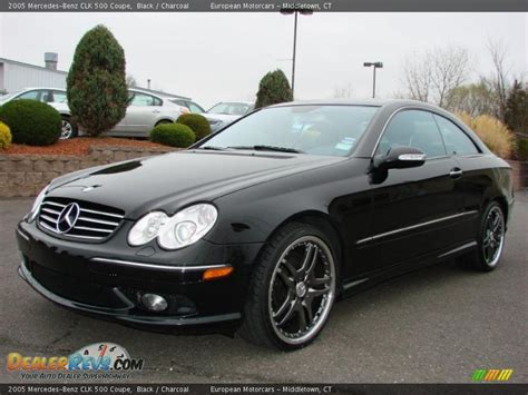2005 Mercedes Clk500 by 2005 Mercedes Clk 500 Coupe Black Charcoal Photo 1