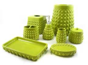 green bathroom accessories windsong lime green bath accessories