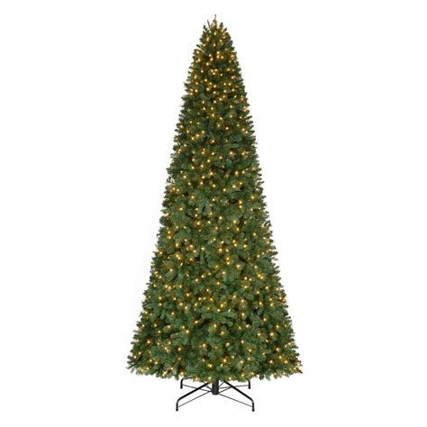 12 ft artificial trees home accents 12 ft pre lit led pine