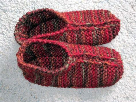 knitted shoes pattern free slipper patterns for knitting 171 free patterns