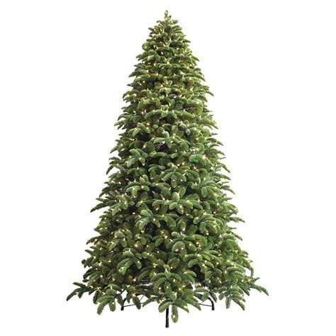 noble tree ge 9 ft just cut noble fir ez light artificial