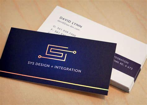 custom card standard business cards