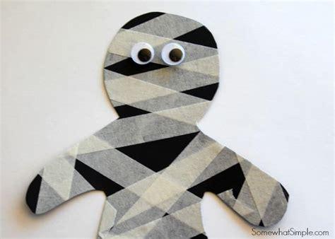 mummy craft for masking mummies