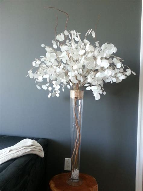 silver centerpieces 1000 ideas about curly willow centerpieces on