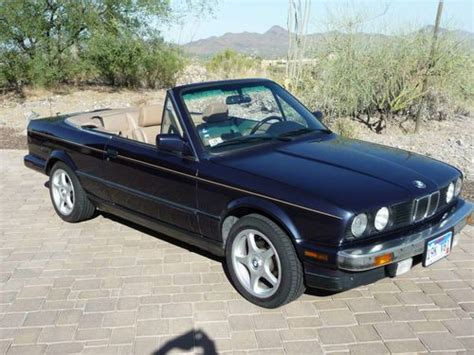1989 Bmw Convertible by Buy Used 1989 Bmw 325i Base Convertible 2 Door 2 5l In