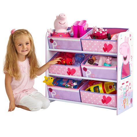 peppa pig bedroom furniture peppa pig 6 bin storage unit new bedroom furniture