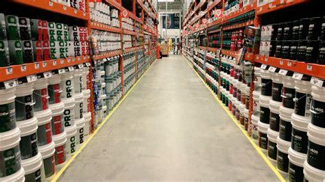 home depot paint aisle gratton thd melissa