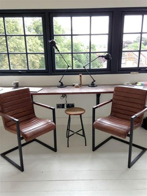 industrial style office furniture industrial style office chairs mad about the house