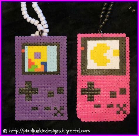 perler gameboy gameboy perler bead necklaces all