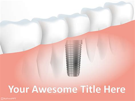 free dental powerpoint templates themes amp ppt