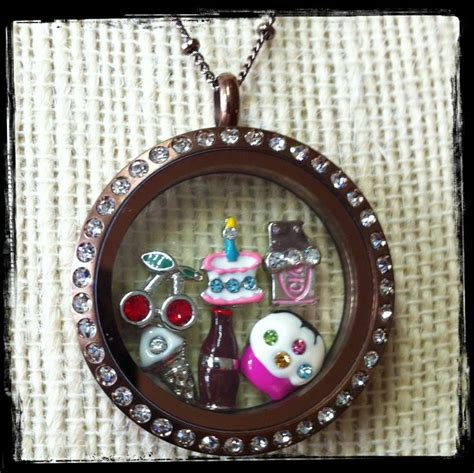 chocolate origami owl locket 1000 images about origami owl lockets tags on