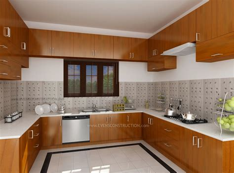 house interior design kitchen modular kitchen by kerala home design amazing