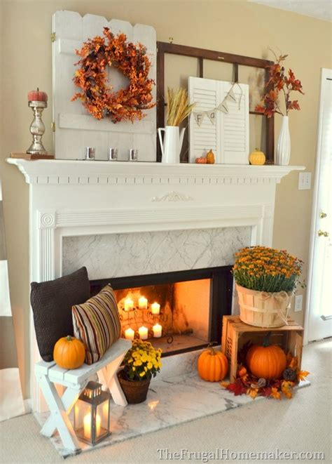ideas for fall fall fireplace mantel on fall fireplace fall
