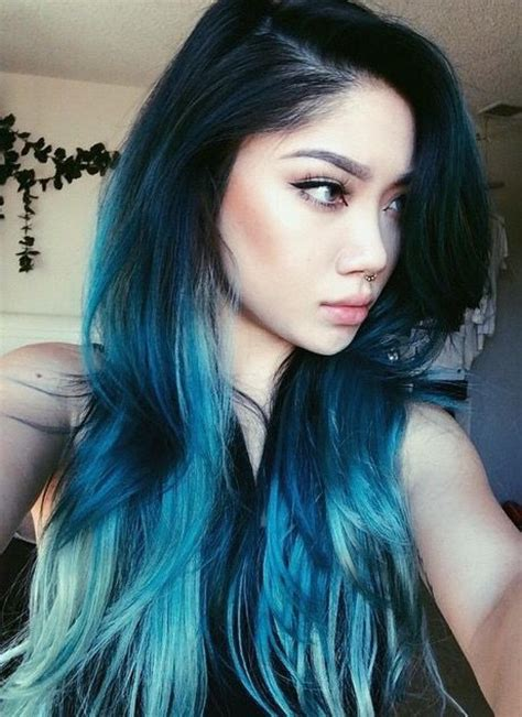 blue hair 25 insanely awesome ombre hair blue purple