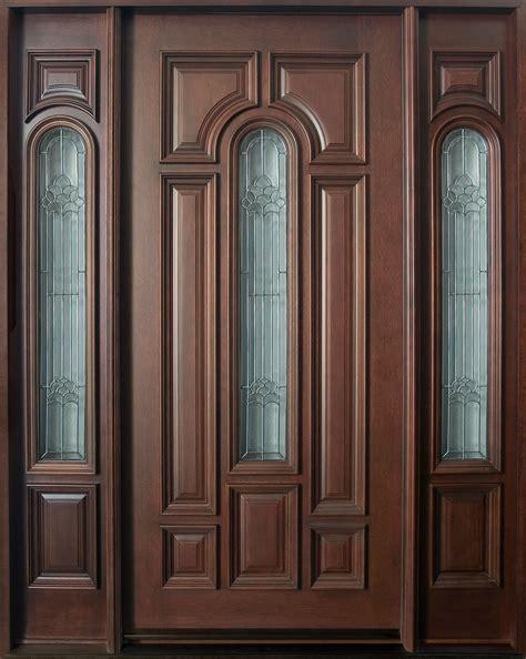 mahogany front door custom mahogany doors solid wood front doors