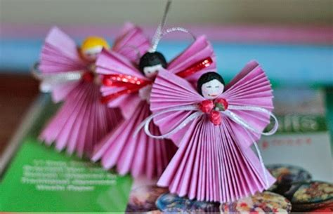 craft ideas of paper paper craft ornament ideas creative and