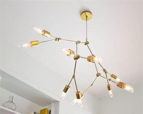 modern brass chandelier the temperance chandelier modern brass by speakeasyls on etsy