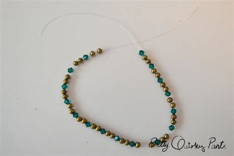 how to make beaded bracelets with elastic pretty diy stretch bead bracelet