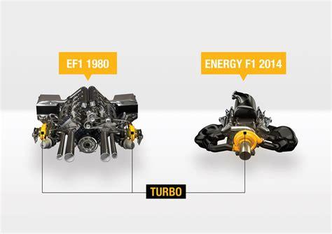 Renault F1 Engine by Renault F1 2014 Engine Vs 1980 Turbo Engine Forcegt
