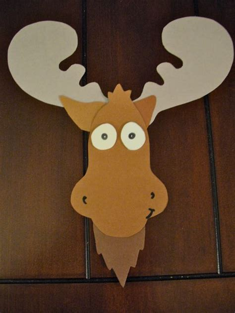 1000 Ideas About Moose Crafts On Moose Quilt