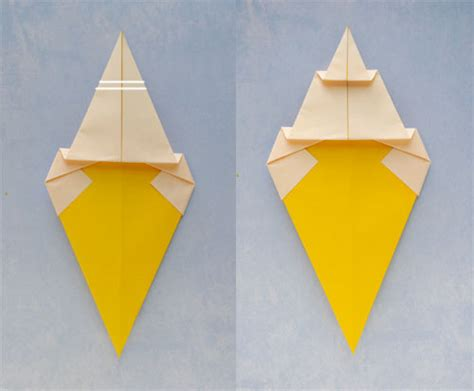 cone origami origami cone 183 how to fold an origami food