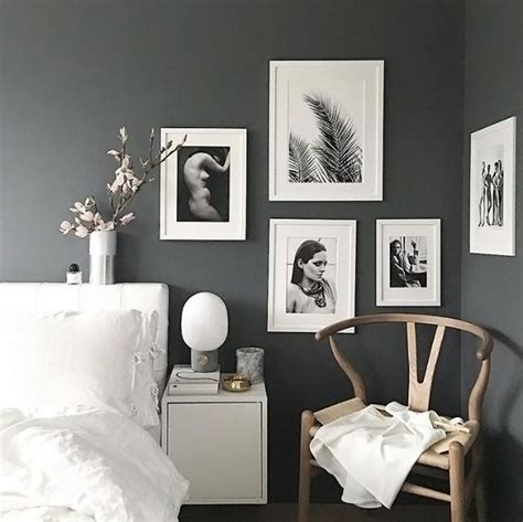 white and gray bedroom best 25 charcoal walls ideas on grey