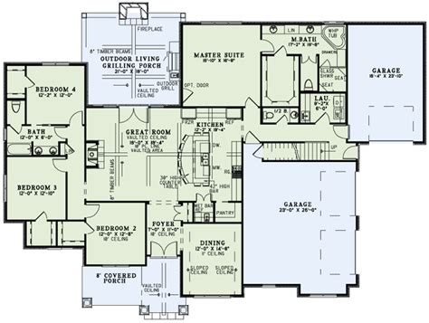 outdoor living floor plans house plan 82230 at familyhomeplans