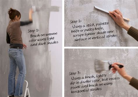 faux finishes on walls 17 best ideas about concrete walls on concrete