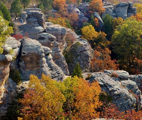 Garden Of The Gods Fall Fall Colors Garden Of The Gods Shawnee National Forest