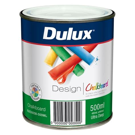 dulux wonderwalls chalkboard paint dulux 500ml design tintable chalkboard paint