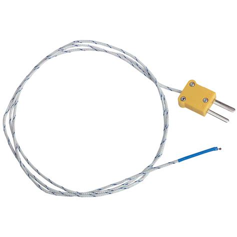 bead type thermocouple extech tp870 thermocouple probe beaded wire type k from
