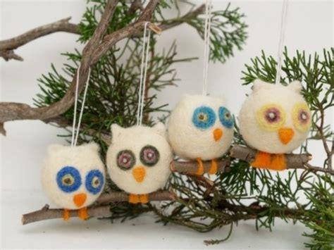 original decorations 56 original felt ornaments for your tree digsdigs