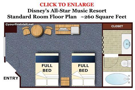 disney floor plan review disney s all resort