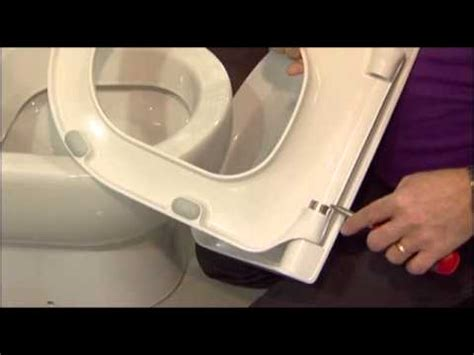 How To Tighten A Duravit Toilet Seat by How To Change The Soft Close Cylinders On A Pressalit