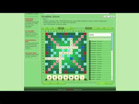 scrabble never lose scrabble solver for every one