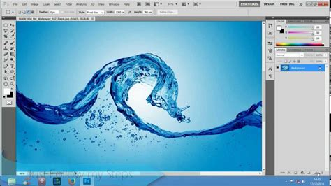 how to draw photoshop make water drops in photoshop