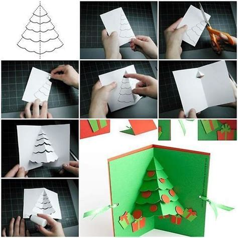 how to make a pop up tree card how to make tree pop up card crafting ideas