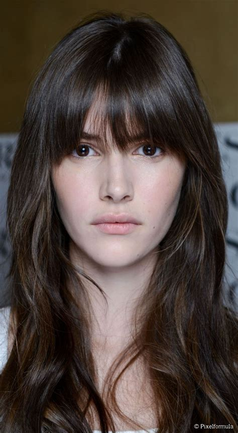 hair with fantastic fringe how to master bangs bangs