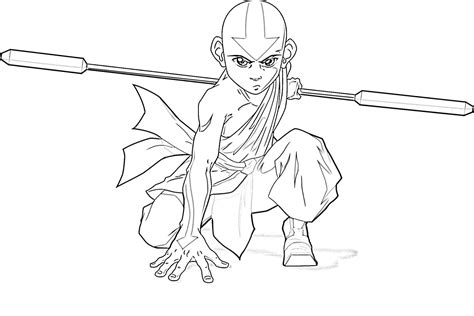 craftoholic avatar the last airbender coloring pages