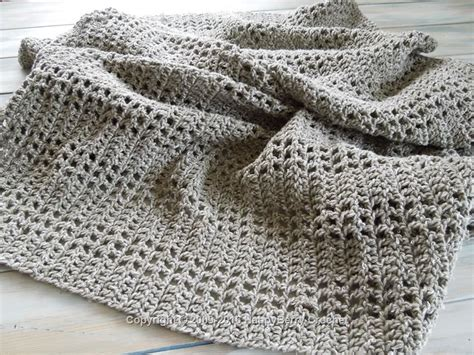 patterns uk mesh filet afghan blanket happyberry