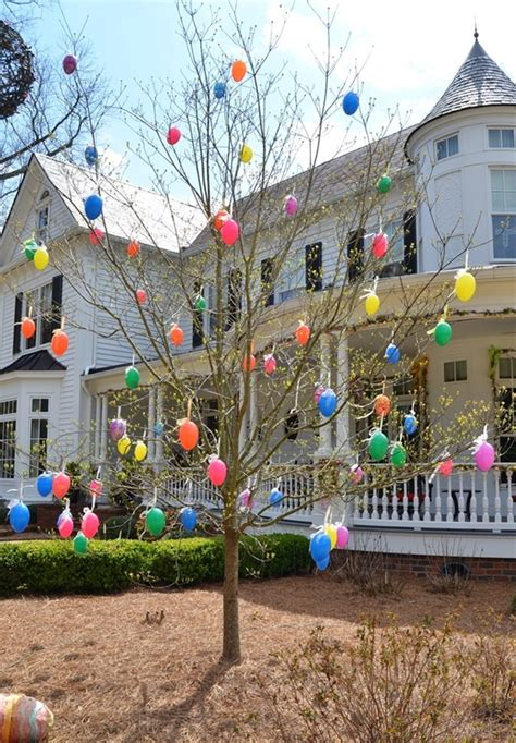 tree outside decorations 40 outdoor easter decorations ideas to make