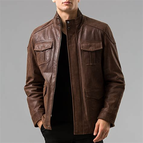 real leather jackets mens aliexpress buy s 6xl s genuine leather jacket pigskin real leather jackets pig