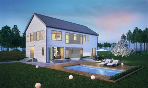 eco farmhouse plan homes launches 16 new prefab home designs including