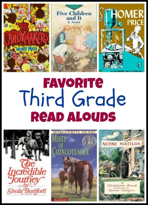 Favorite Third Grade Read Alouds Awesome Great Stories